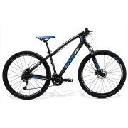 Bicicleta GTS Aro 29 Freio a Disco Hidráulico Câmbio Shimano Acera 27 Marchas e Amortecedor | GTS M1 I-Vtec