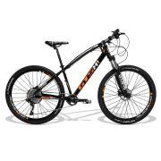 Bicicleta GTS Aro 29 Freio a Disco Hidráulico Câmbio X-TIME 1X12 Suspensão C/Trava no Guidão | GTS M1 I-VTEC 1X12