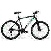 Bicicleta GTS Aro 29 Freio a Disco Shimano Hidráulico Câmbio Shimano Altus 27 Marchas e Amortecedor + Velocímetro de Brinde | GTS M1 New Expert 2.0