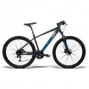 Bicicleta GTS Dynamic Aro 29 Freio a Disco Hidráulico Câmbio Shimano Altus 24 Marchas + Amortecedor | GTS M1 Dynamic Altus