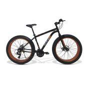 Bicicleta GTS  Fat Aro 26 com Freio a Disco 21 Marchas Câmbio Shimano  | GTS M1 WALK FAT
