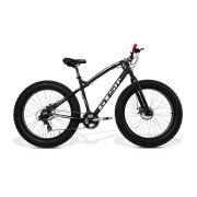 Bicicleta GTS  Fat Aro 26 com Freio a Disco 24 Marchas Câmbio Shimano  | GTS M1 I-Vtec New FAT