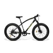 Bicicleta GTS  Fat Aro 26 com Freio a Disco 9 Marchas Câmbio MicroNew | GTS M1 RACER FAT