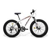 Bicicleta GTS  Fat Aro 26 com Freio a Disco 9 Marchas Câmbio MicroNew | GTS M1 ROCK FAT