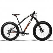 Bicicleta GTS Fat Bike Tsi 9 Aro 26 com Freio a Disco Hidráulico Cambio GTSM1 TSI 9 Marchas e Quadro de Alumínio | GTS M1 I-Vtec FAT