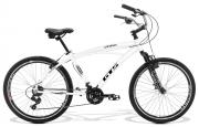 Bicicleta GTS Praiana aro 26 freio v-brake 21 marchas | GTS M1 Low Beach