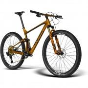 Bicicleta GTS RAV aro 29 Freio Hidráulico Quadro Full Suspension Carbono Gold | 1x12 Sram Wireless  XX1 AXS