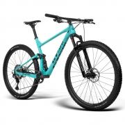 Bicicleta GTS RAV2 aro 29 Freio Hidráulico Quadro Full Suspension Carbono   1x12 shimano Deore XT