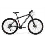 Bicicleta GTS Aro 29  Freio a Disco Hidráulico Câmbio RX GTS M1 30 Marchas e Amortecedor | GTS M1 Advanced New
