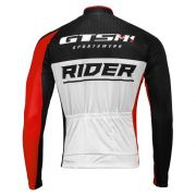 Camiseta Ciclista GTS M1 MANGA LONGA com proteção UVA e UVB RIDER
