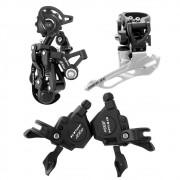Kit 30 marchas GTSM1 RX10 Cambios e Trocadores 10 velocidades