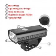 Lanterna Dianteira Recarregável CL-8014