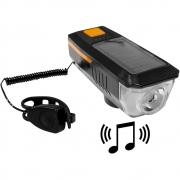Lanterna Led com Buzina carregamento solar ou USB  CL-17