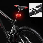 Lanterna Traseira Pisca para Bicicleta com Seta, Som e Controle Wireless  Fy-1820
