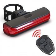 Lanterna Traseira recarregável Com seta e Controle wifi CL-8017