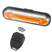 Lanterna Traseira recarregável Com seta e Controle wifi  CL-8038