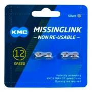 Power link Emenda para Correntes 12v Kmc, Shimano, Sram CL552-NP