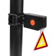 Sinalizador traseira Led Bicycle Tail Lamp Xu-902 Triangulo