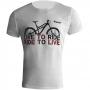 Camiseta Live to Ride Marelli