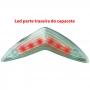Capacete GTA NX Inmold com Led