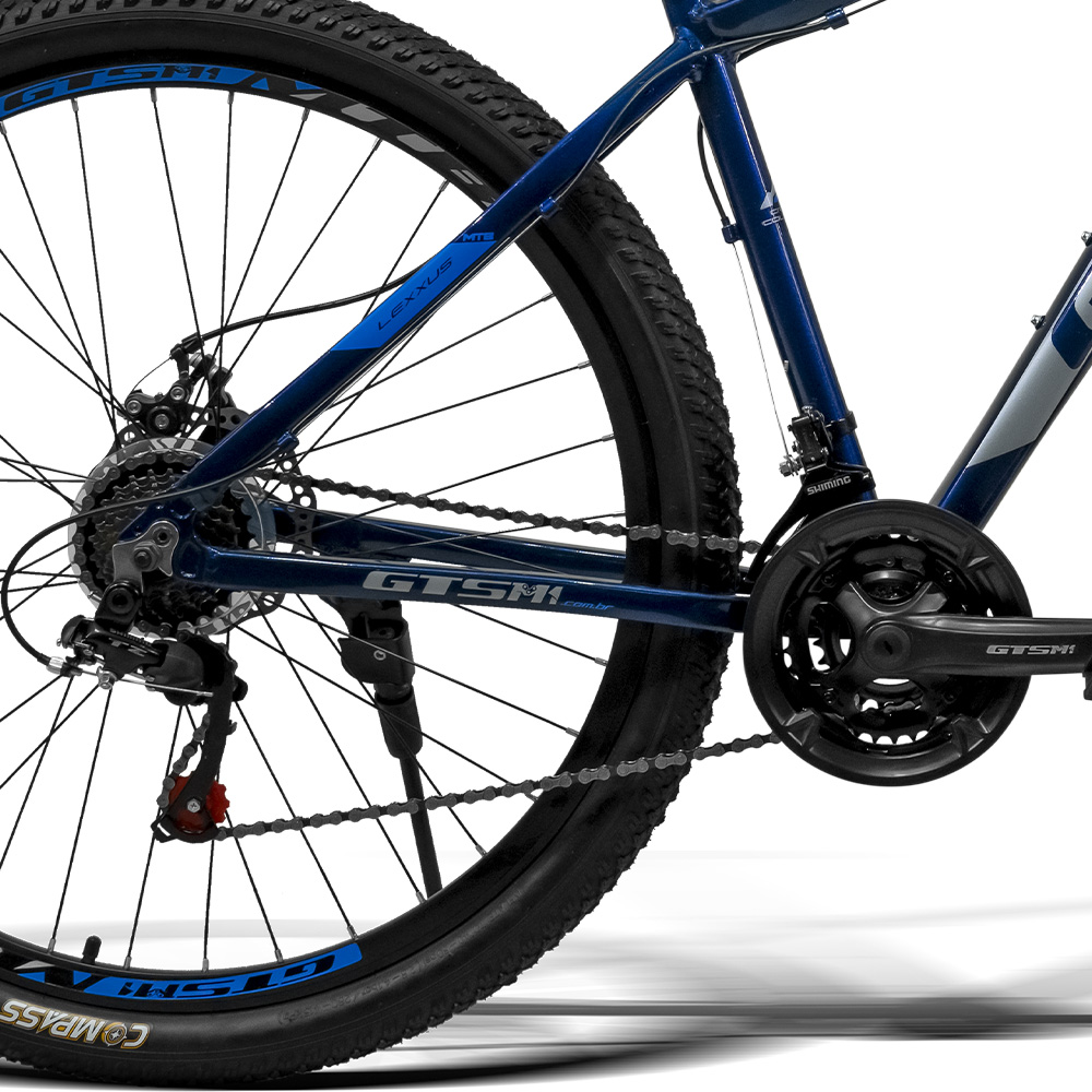 Bicicleta 29 GTS M1 freio a disco 21 Marchas Quadro Alumínio e amortecedor / GTS M1 Lexxus