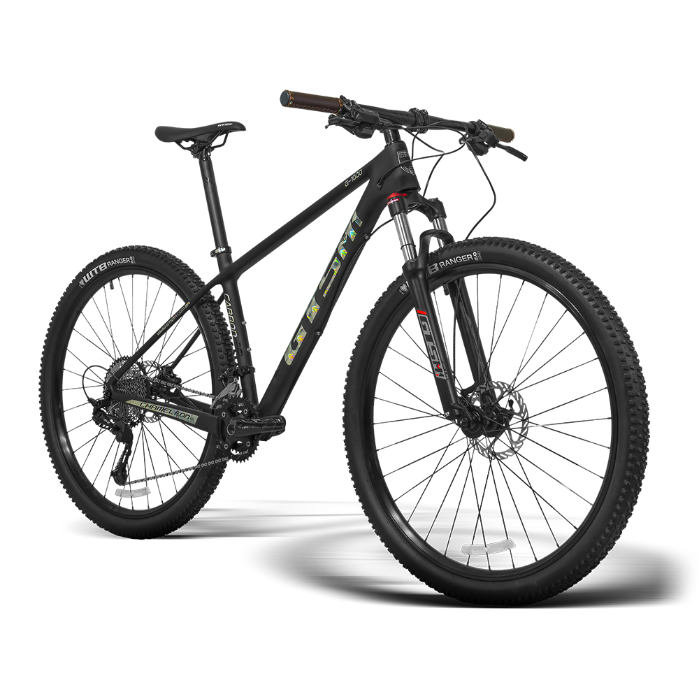 Bicicleta aro 29 Carbono GTSM1 G1000 2x12 24 marchas e Suspensão com Trava Hidráulica   GTSM1 G1000 Chameleon Moutain High Series