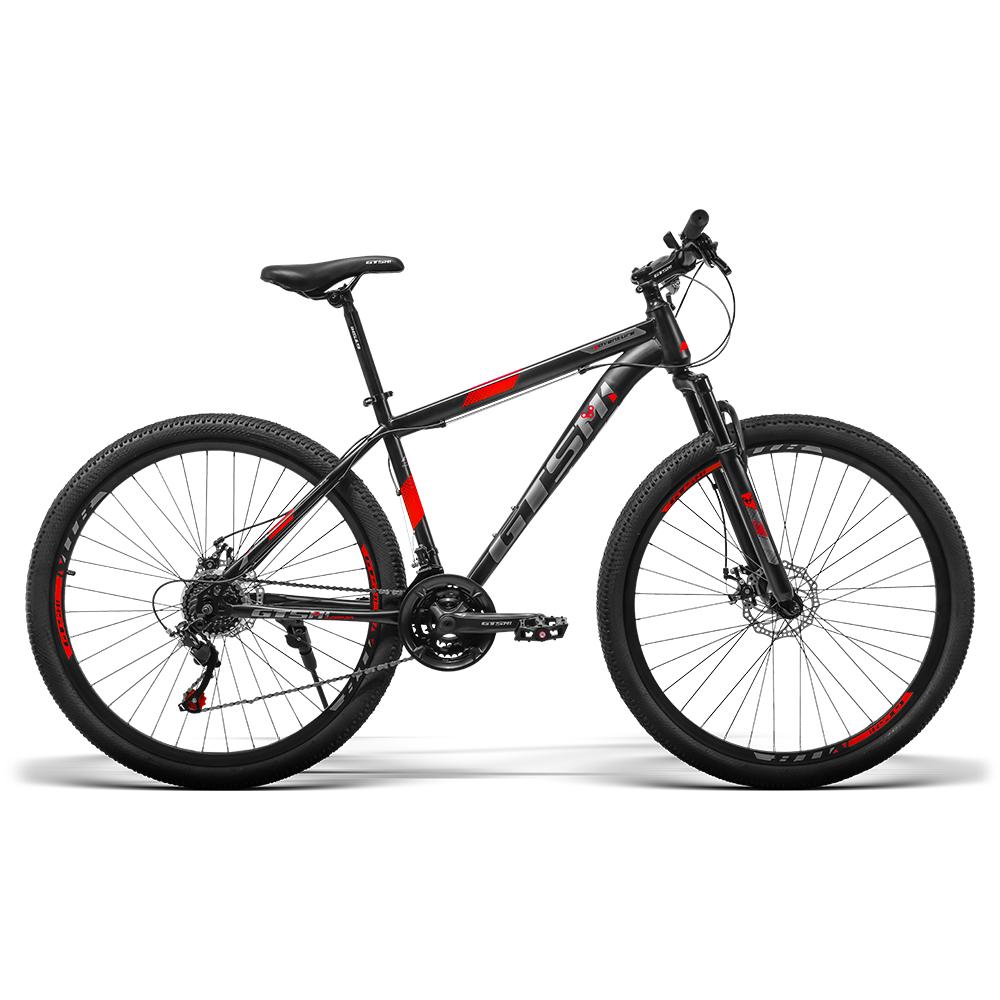 Bicicleta  aro 29 GTS M1 freio a disco 21 Marchas Quadro Aço e amortecedor / GTS M1 Adventure