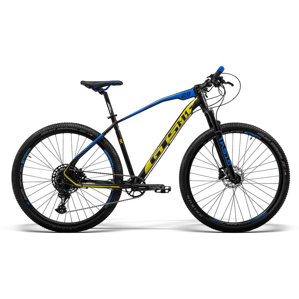 Bicicleta aro 29 Gtsm1 GX com Kit Sram Sx Eagle 1x12 Freio Hidráulico e Trava no Guidão   GTSM1 I-VTEC NEW GX SRAM