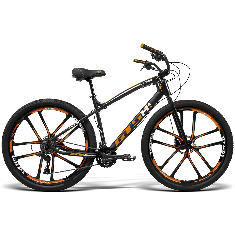 Bicicleta aro 29 Rodas de Magnésio 27 marchas Freio a disco Hidráulico / GTSM1 I-VTEC BEACH CAIÇARA MAGNÉSIO