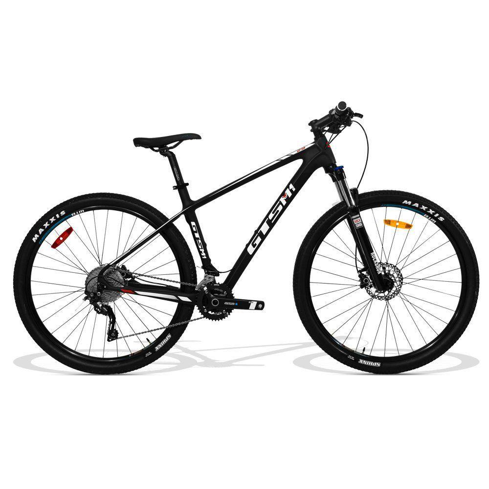 Bicicleta Carbono GTS Aro 29 Freio a Disco Câmbio Deore SLX 20 Marchas   GTS M1 Carbon SLX 2X10