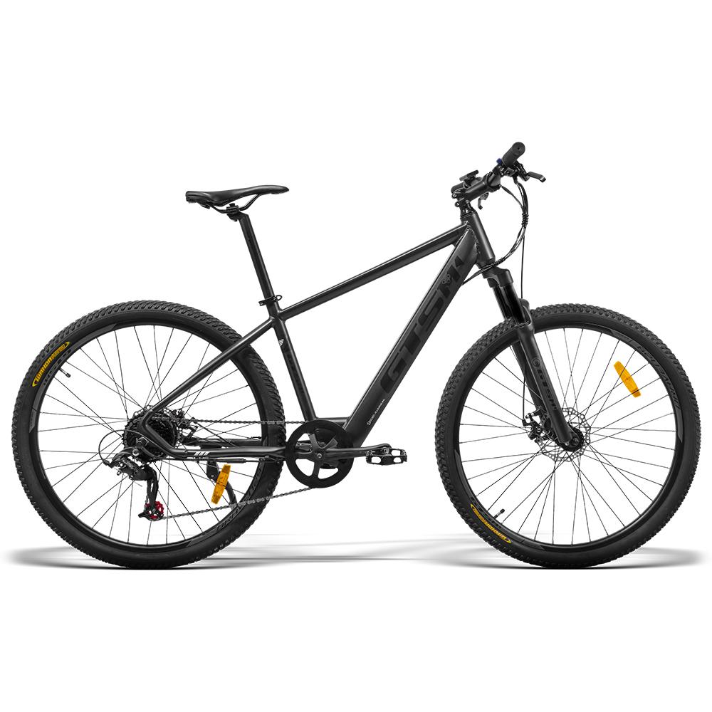 Bicicleta Elétrica aro 29 E-bike GTS M1 Motor traseiro 190 Wh 36v 5.2Ah Freio a Disco Câmbio Shimano 7 Marchas e Amortecedor   GTS M1 Elétrica Draven 190 Wh 5.2Ah