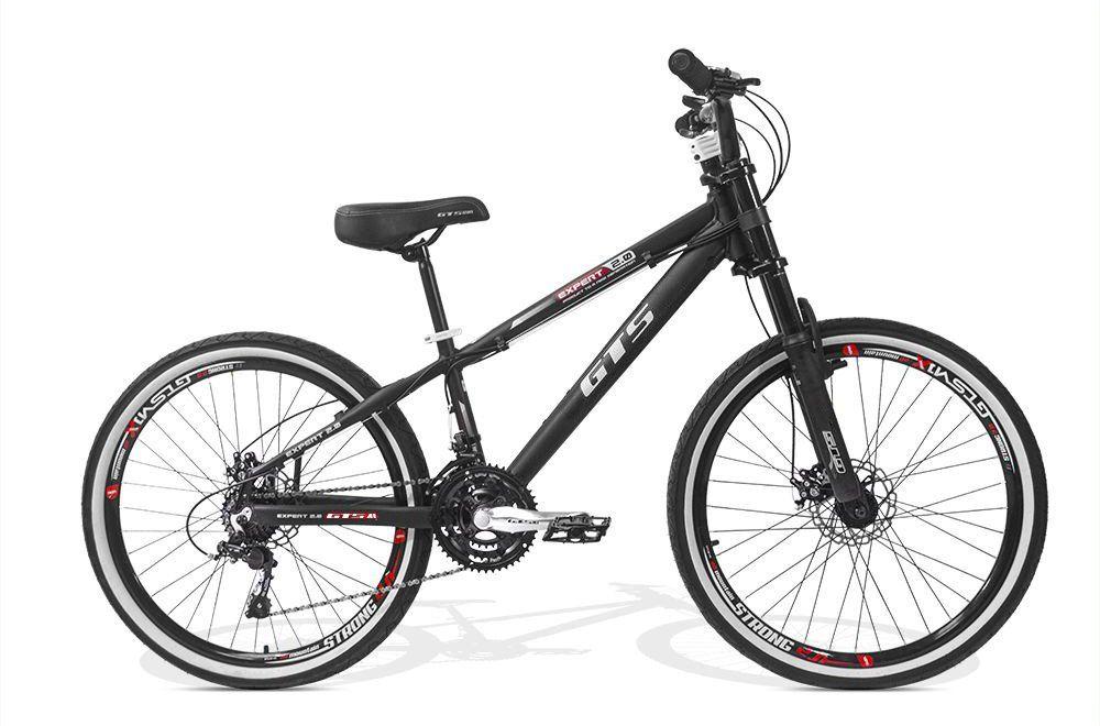 Bicicleta GTS Aro 26 Freio a Disco Câmbio Shimano 21 Marchas | GTS M1 Expert Freeride