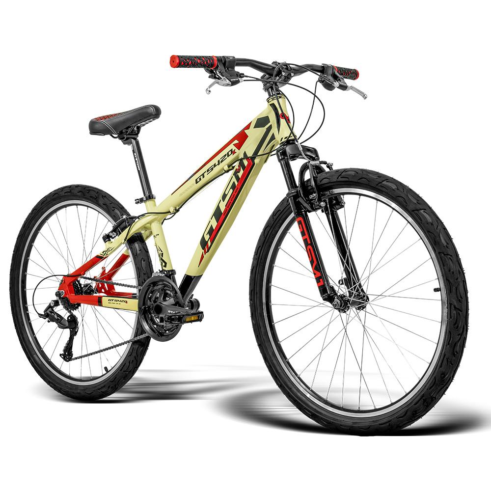 Bicicleta GTS Aro 26 Freio V-Brake Câmbio GTS TSI 21 Marchas e Amortecedor   GTS M1 420x FreeRide