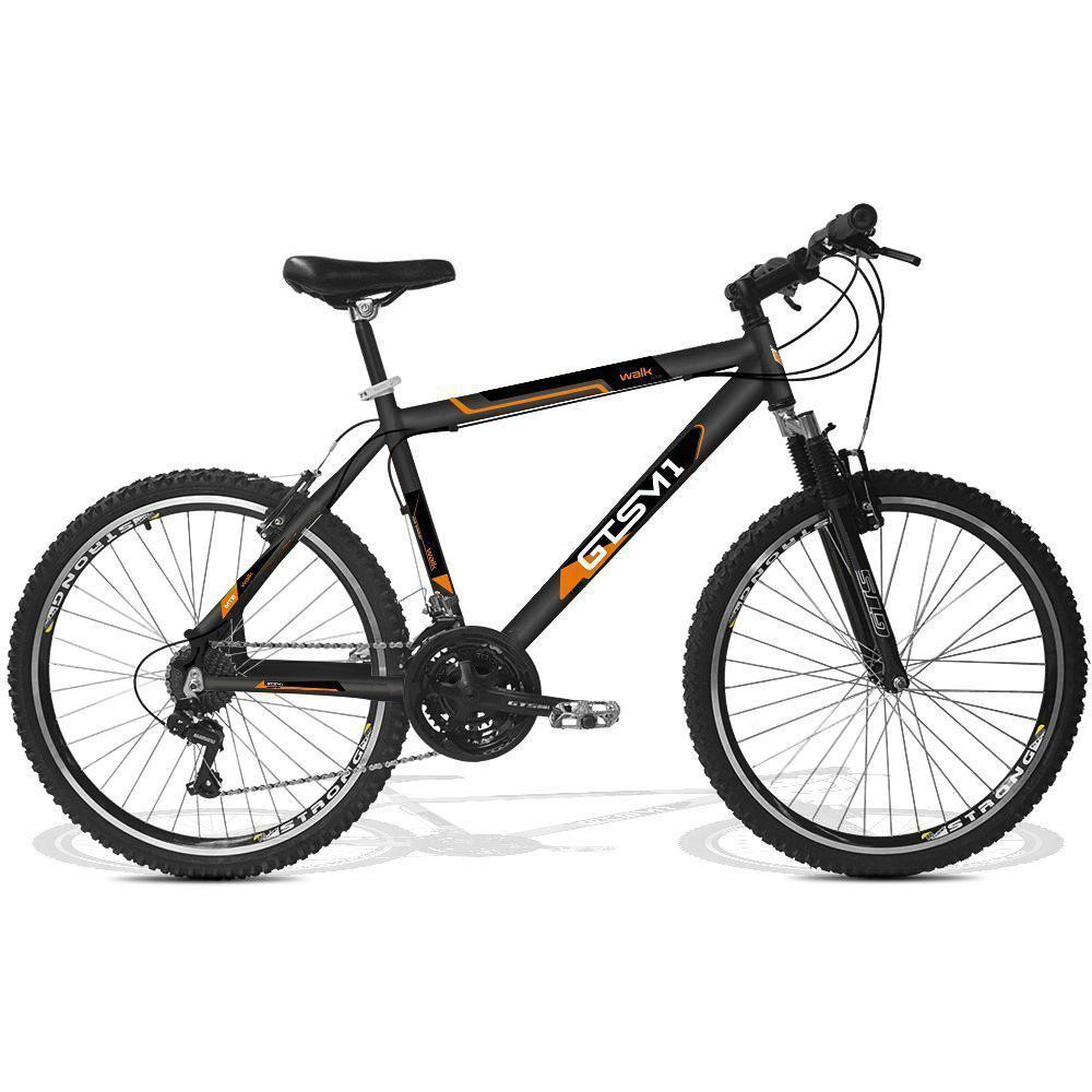 Bicicleta GTS Aro 26 V-Brake 21 Marchas e Amortecedor| GTS M1 Walk New