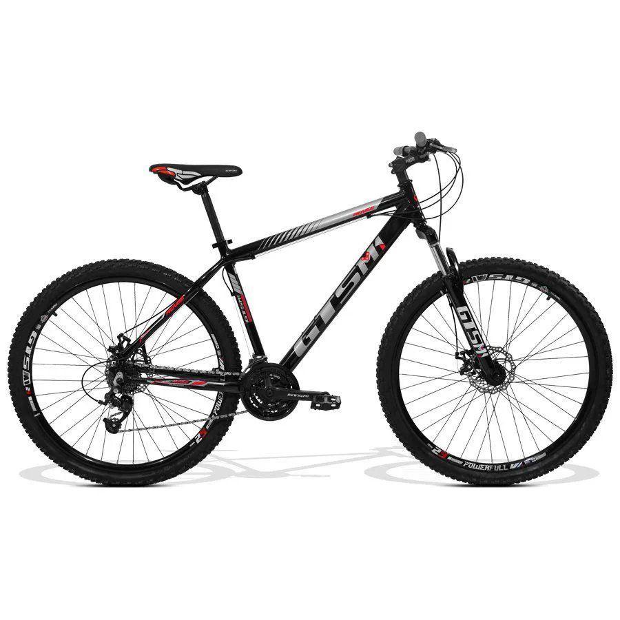 Bicicleta GTS Aro 29 Freio a Disco 21 Marchas e Amortecedor | GTS M1 Movee