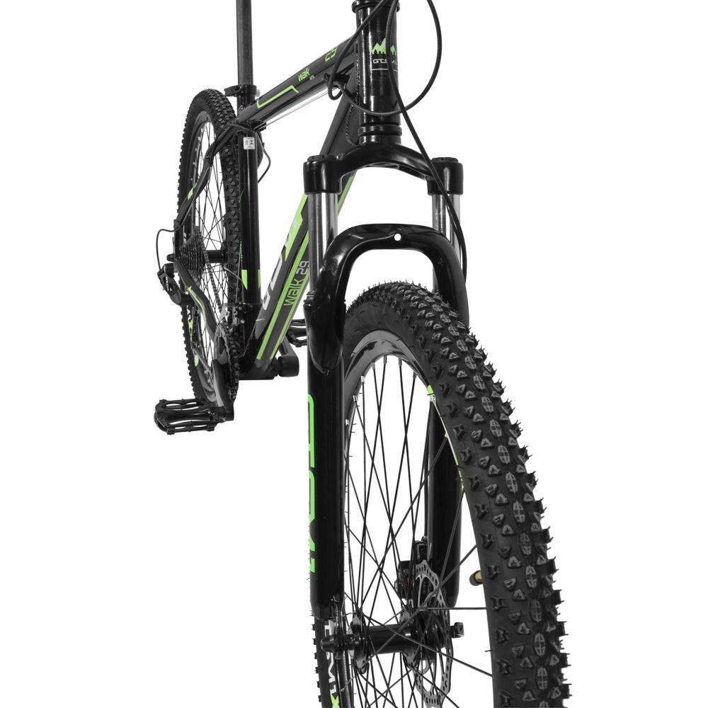 Bicicleta GTS Aro 29 Freio a Disco Câmbio GTS TSI 27 Marchas Amortecedor Com Câmara de ar Anti Furo | GTS M1 Walk New