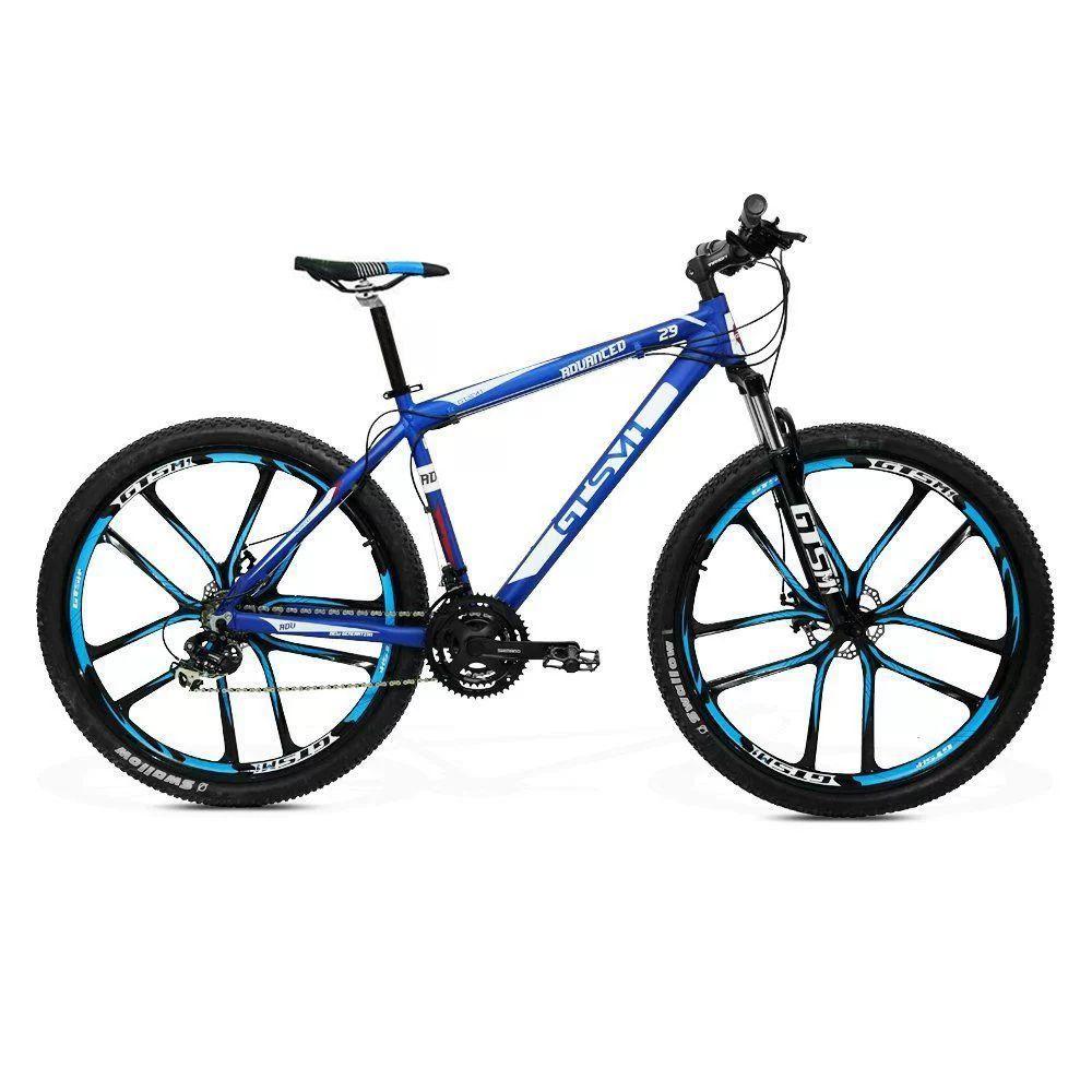 f85e69365 Bicicleta GTS Aro 29 Freio a Disco Câmbio Shimano 21 Marchas Amortecedor e  Roda de Magnésio