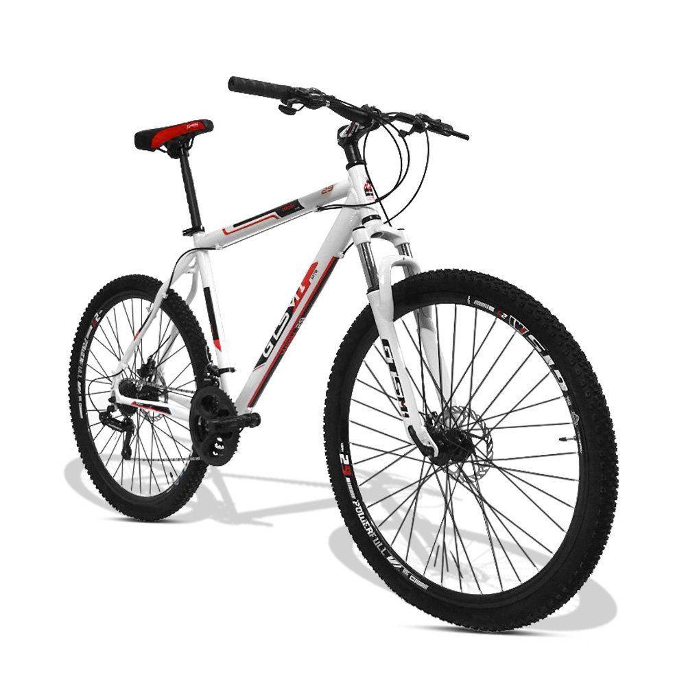 Bicicleta GTS Aro 29 Freio a Disco Câmbio Shimano Tourney 21 Marchas e Amortecedor  GTS M1 Walk New