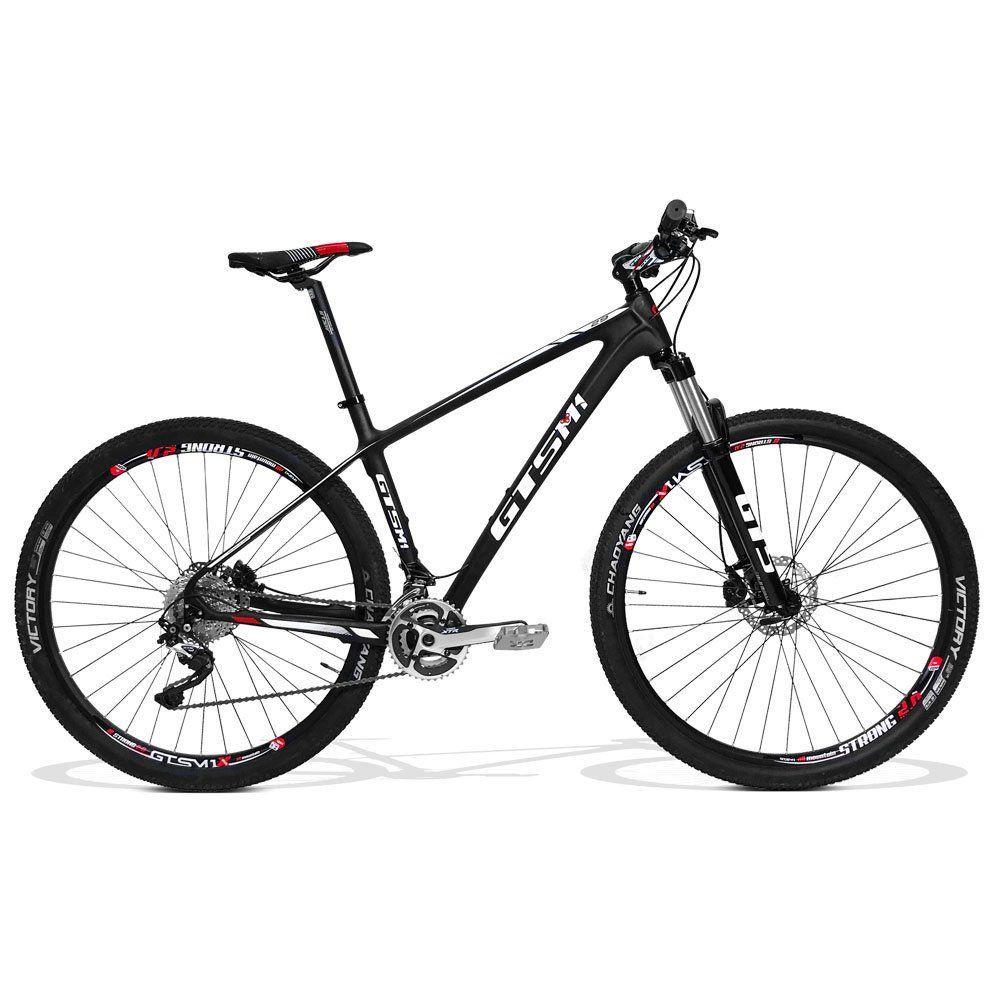 26c63a8ec Bicicleta Carbono GTS Aro 29 Freio a Disco Câmbio Shimano XTR 20 Marchas
