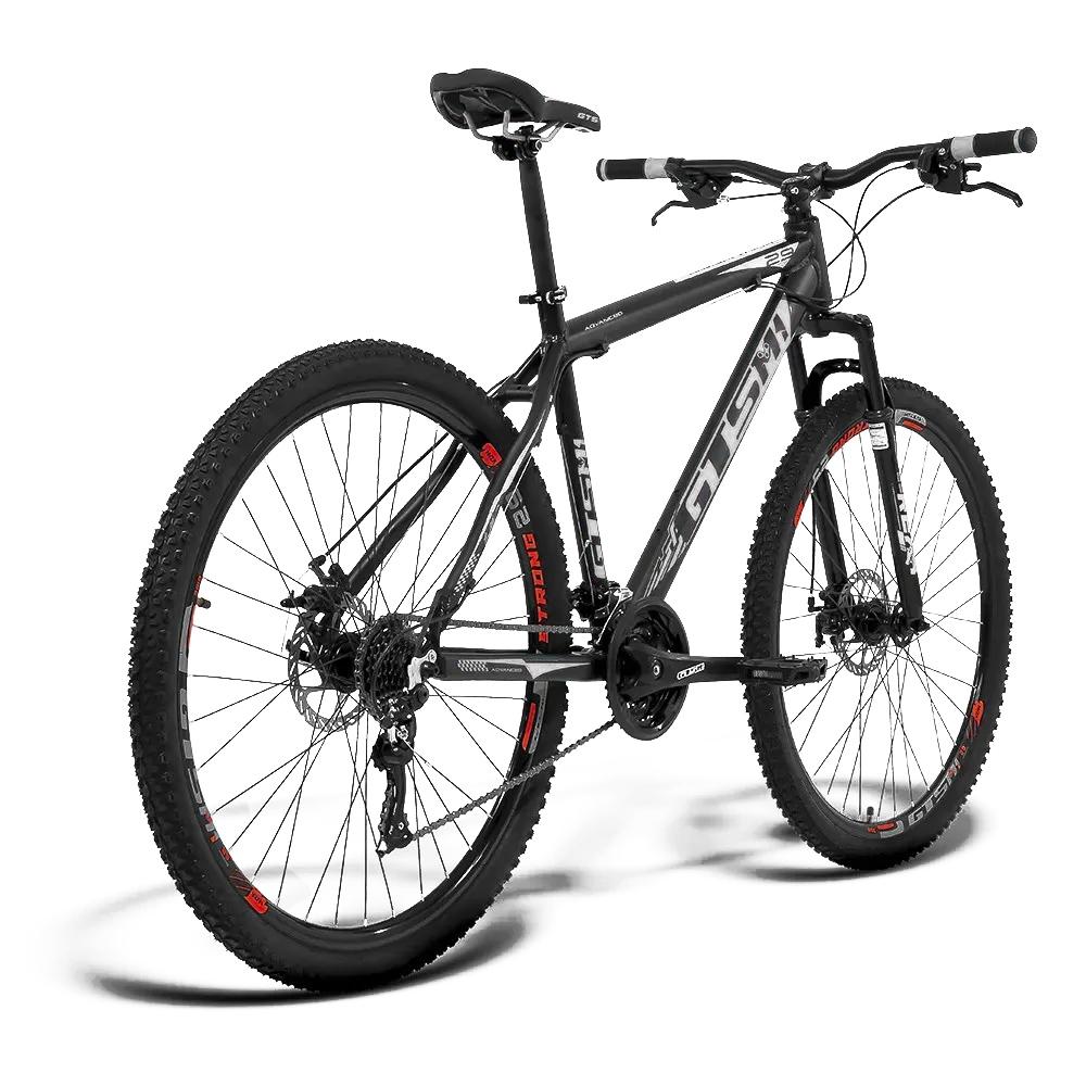 Bicicleta GTS Aro 29 Freio a Disco Câmbio Traseiro GTSM1 TSI8 24 Marchas e Amortecedor | GTS M1 Advanced 2021