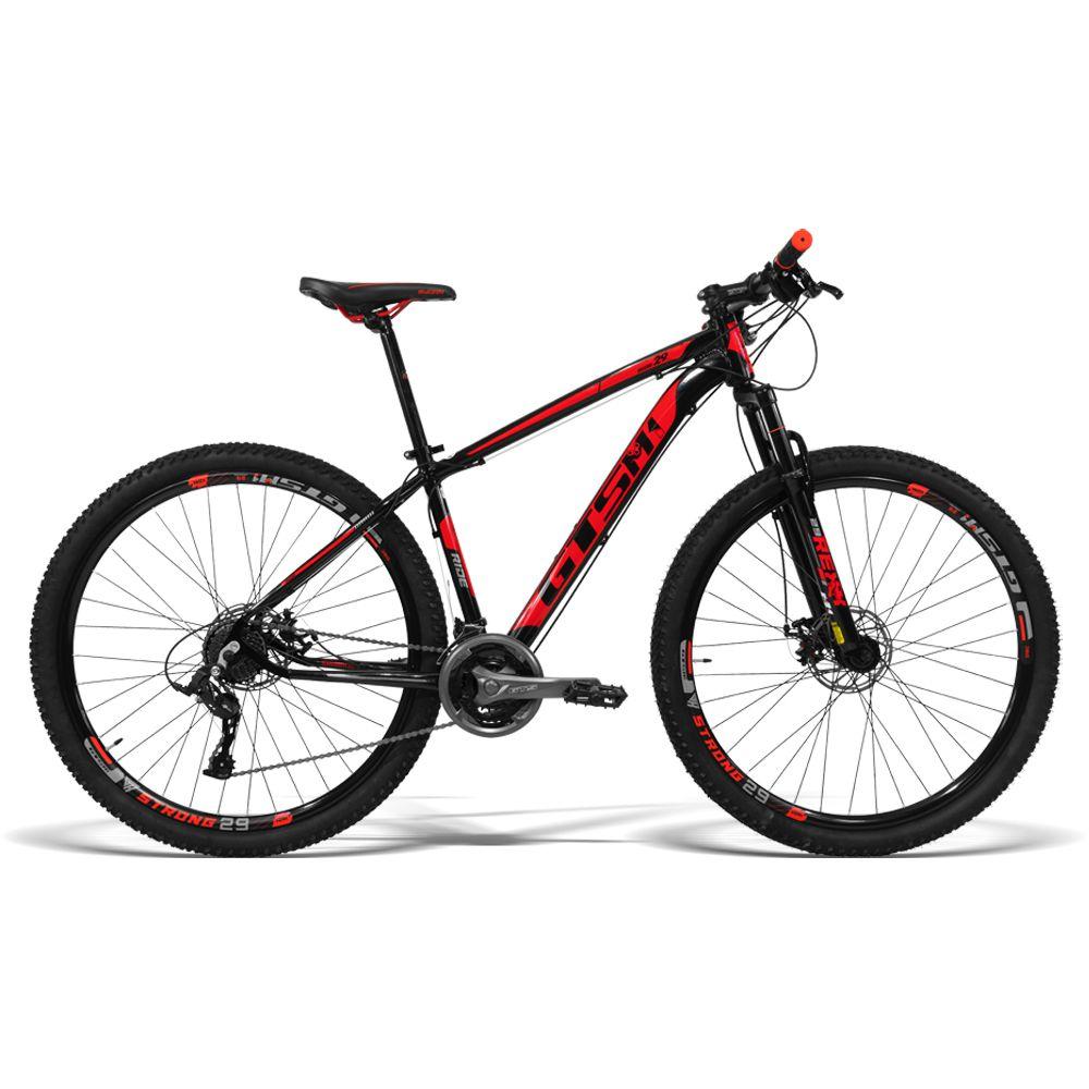 Bicicleta GTS Aro 29 Freio a Disco Câmbio Gtsm1 TSI 21 Marchas e Amortecedor | GTS M1 Ride New TSI