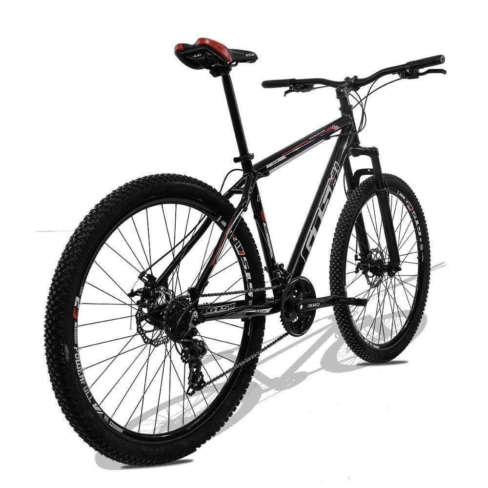 Bicicleta GTS Aro 29 Freio a Disco Câmbio Traseiro Shimano 24 Marchas e Amortecedor| GTS M1 Ride