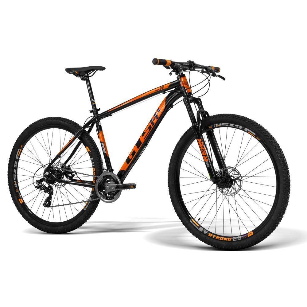 Bicicleta GTS Aro 29 Freio a Disco Câmbio GTSM1 TSI 24 Marchas e Amortecedor | GTS M1 Ride New