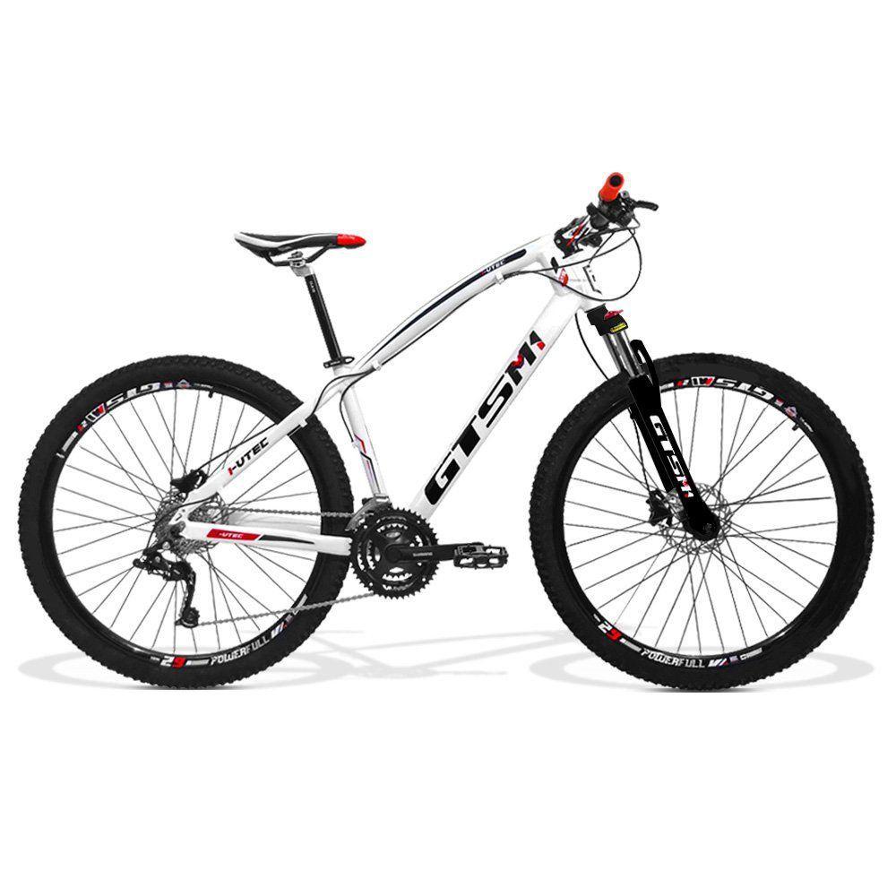 Bicicleta GTS Aro 29 Freio a Disco Hidráulico Câmbio 27 Marchas com Câmara Anti Furo | GTS M1 I-Vtec Absolute EL