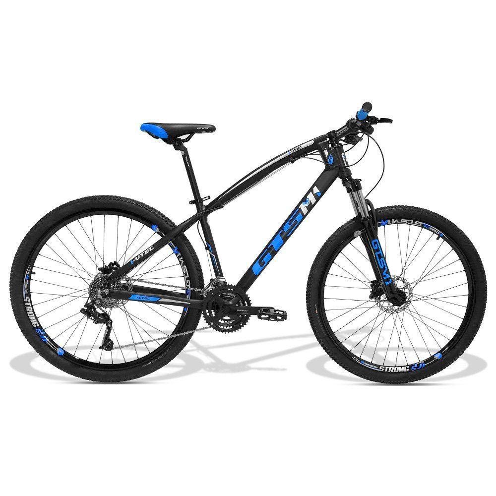 beb93ec0b Bicicleta GTS Aro 29 Freio a Disco Hidráulico Câmbio 27 Marchas e  Amortecedor
