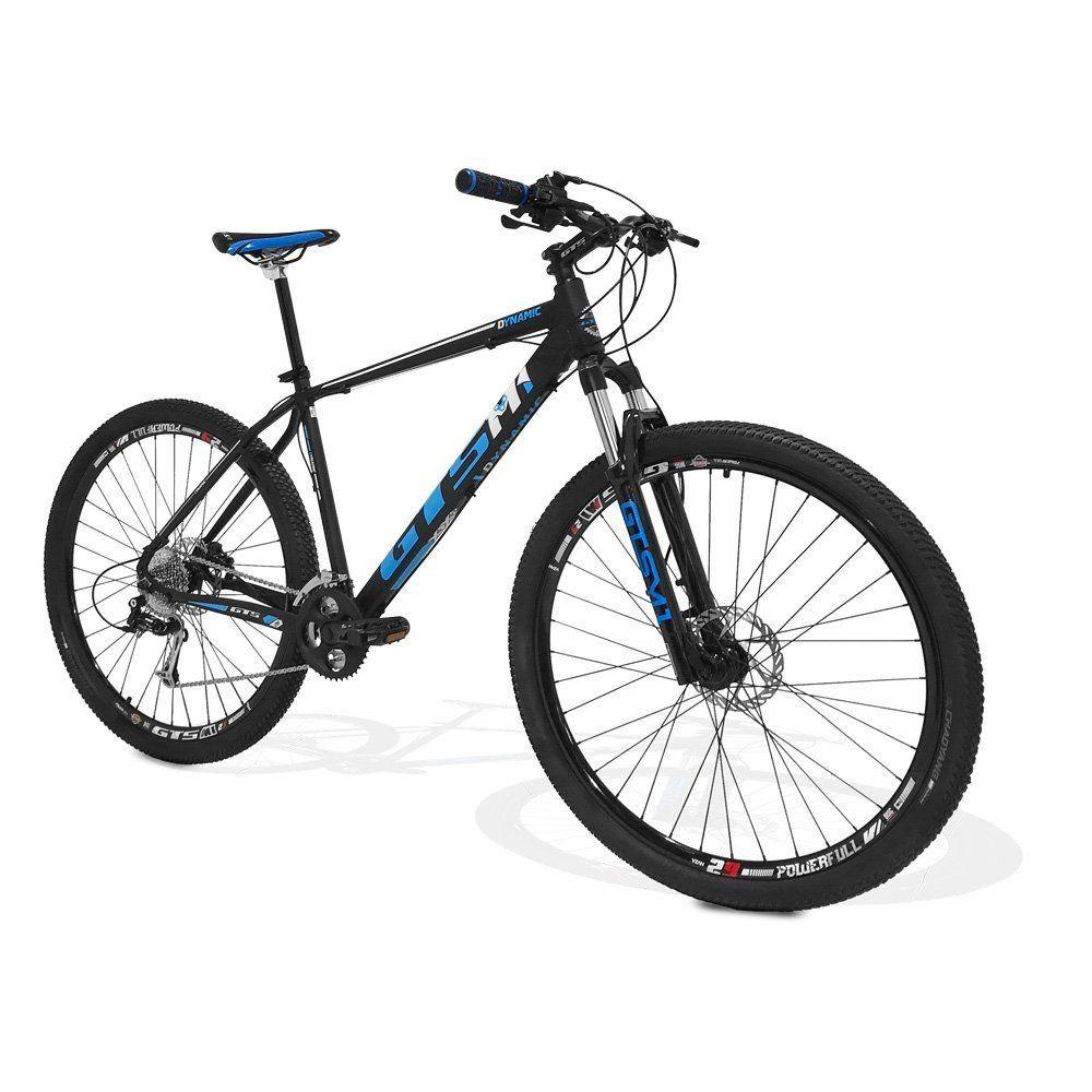 Bicicleta GTS Aro 29 Freio a Disco Hidráulico Câmbio 27 Marchas e Amortecedor + Velocímetro de Brinde | GTS M1 Dynamic SunRace