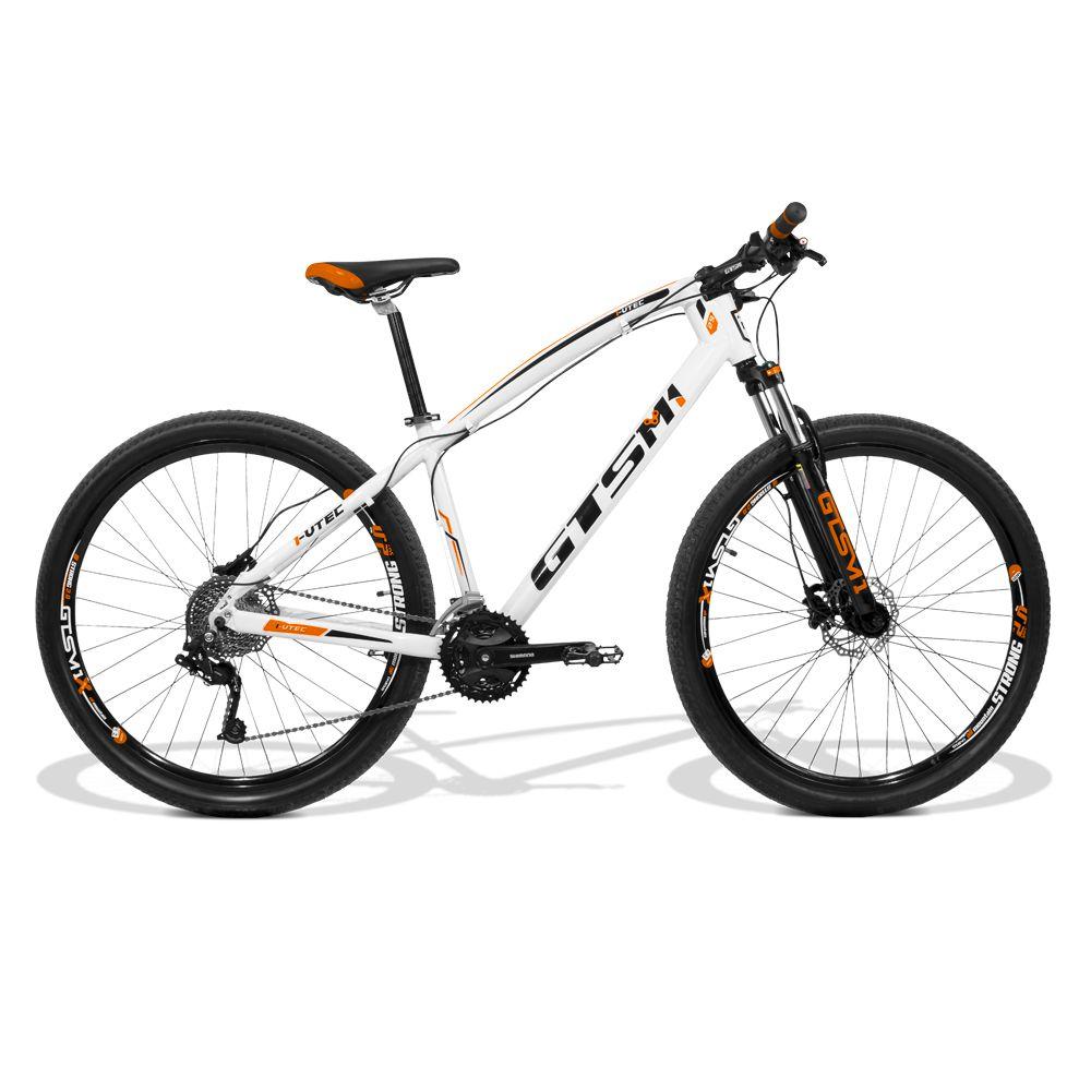Bicicleta GTS Aro 29 Freio a Disco Hidráulico Câmbio 27 Marchas    GTS M1 I-Vtec GTS MX9