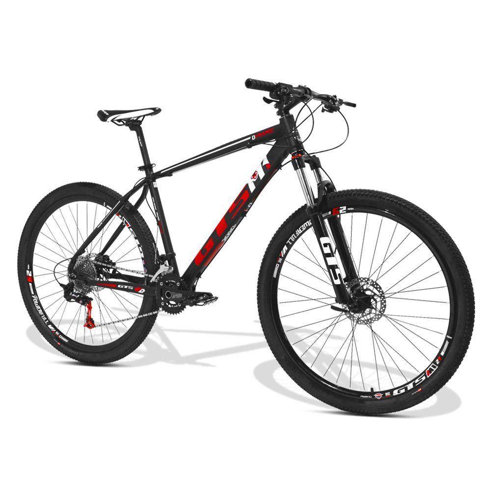 Bicicleta GTS Aro 29 Freio a Disco Hidráulico Câmbio GTS M1 SRX 2x11 | GTS M1 Dynamic 2x11