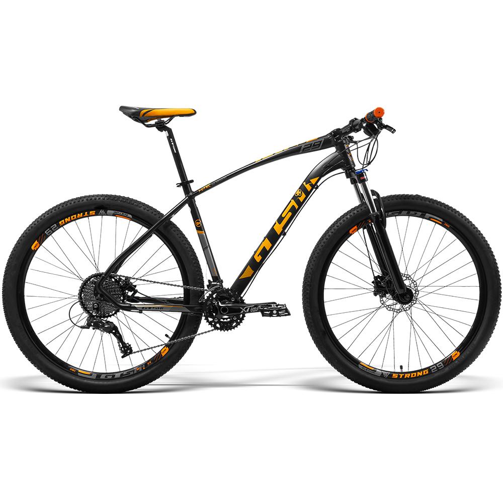 Bicicleta GTS Aro 29 Freio a Disco Hidráulico Câmbio GTS M1 STI10 30 Marchas e Amortecedor   GTS M1  I-vtec SX 3x10