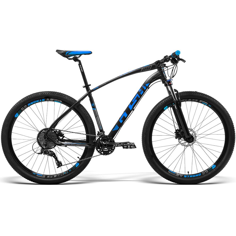 Bicicleta GTS Aro 29 Freio a Disco Hidráulico Câmbio GTS M1 TSI10 30 Marchas e Amortecedor   GTS M1  I-vtec SX 3x10